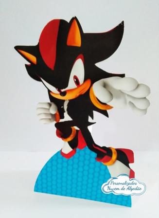 Display de mesa SONIC 27cm - Shadow-Display de mesa Sonic - Shadow até 27cm Largura varia de acordo com a imagem.  - Possui pé de a