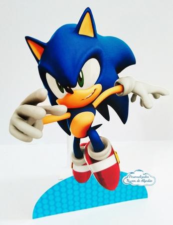 Display de mesa SONIC 27cm - Sonic-Display de mesa Sonic até 27cm Largura varia de acordo com a imagem.  - Possui pé de apoio. -