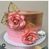 Flor de papel coração para topo de bolo-Flor de papel coração para topo de bolo   Fazemos em qualquer cor.  Na hora do seu pedido info