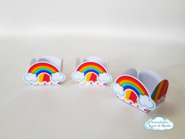 Forminha Arco Íris - Colorido-Forminha Arco Íris - Colorido Fazemos em qualquer tema. Envie nome e idade para personalização.