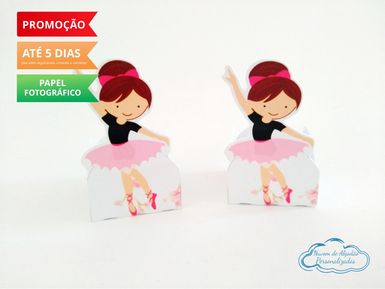 Nuvem de algodão personalizados - Forminha Bailarina