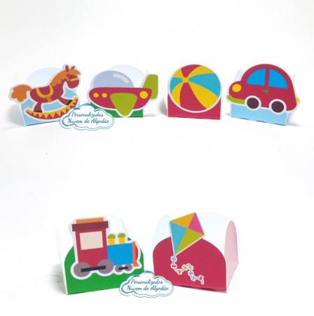 Forminha Brinquedos-Forminha Brinquedos Fazemos em qualquer tema. Envie nome e idade para personalização.  - Produ