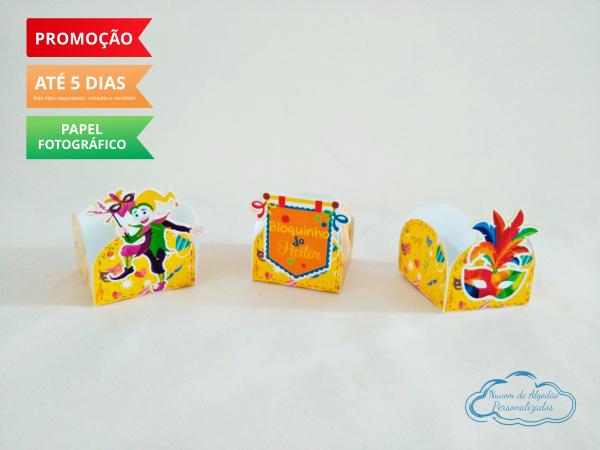 Forminha Carnaval-Forminha Carnaval Fazemos em qualquer tema. Envie nome e idade para personalização.  - Produto