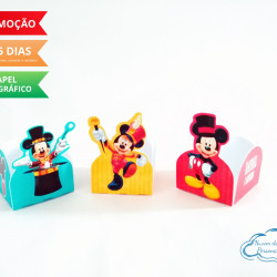Forminha Circo do Mickey