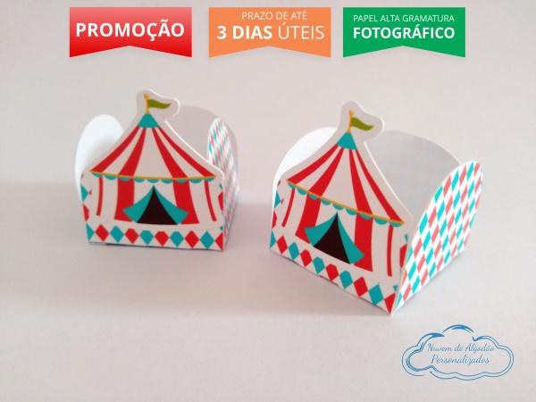 Forminha Circo tenda-Forminha Circo tenda Fazemos em qualquer tema. Envie nome e idade para personalização.  - Prod