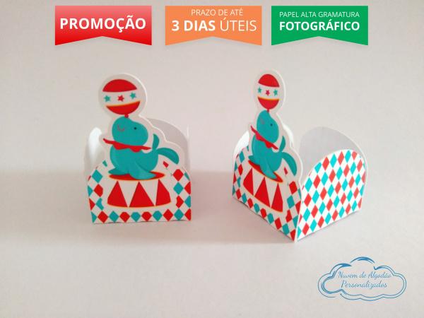 Forminha Circo tradicional-Forminha Circo tradicional Fazemos em qualquer tema. Envie nome e idade para personalização.