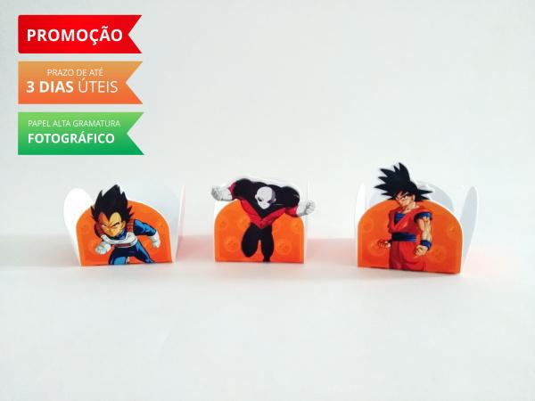 Forminha Dragon Ball-Forminha Dragon Ball Fazemos em qualquer tema. Envie nome e idade para personalização.  - Prod