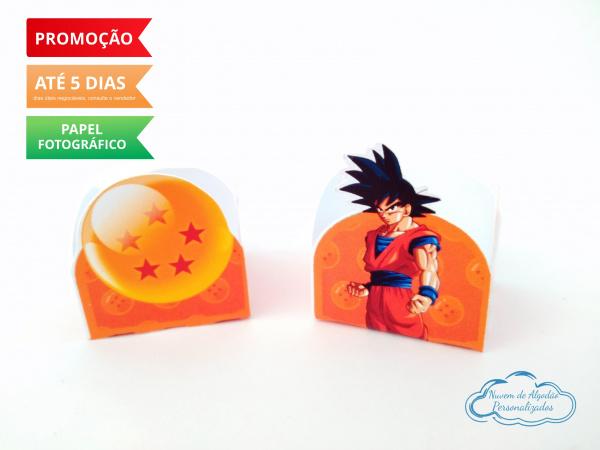 Forminha Dragon Ball Goku-Forminha Dragon Ball Goku Fazemos em qualquer tema. Envie nome e idade para personalização.  -