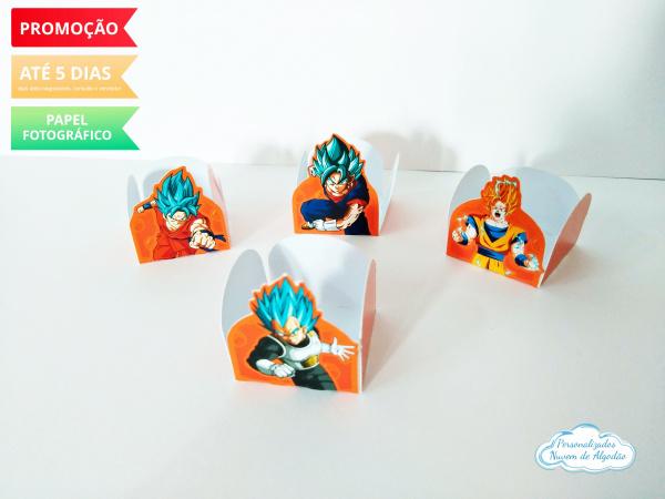 Forminha Dragon Ball Super-Forminha Dragon Ball Super Envie nome e idade para personalização.  - Produto vai desmontado (C