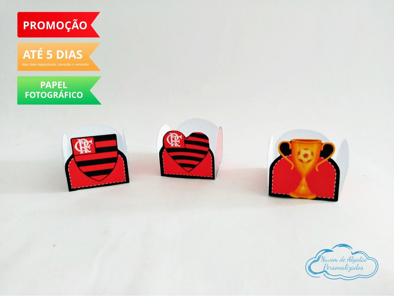 Nuvem de algodão personalizados - Forminha Flamengo
