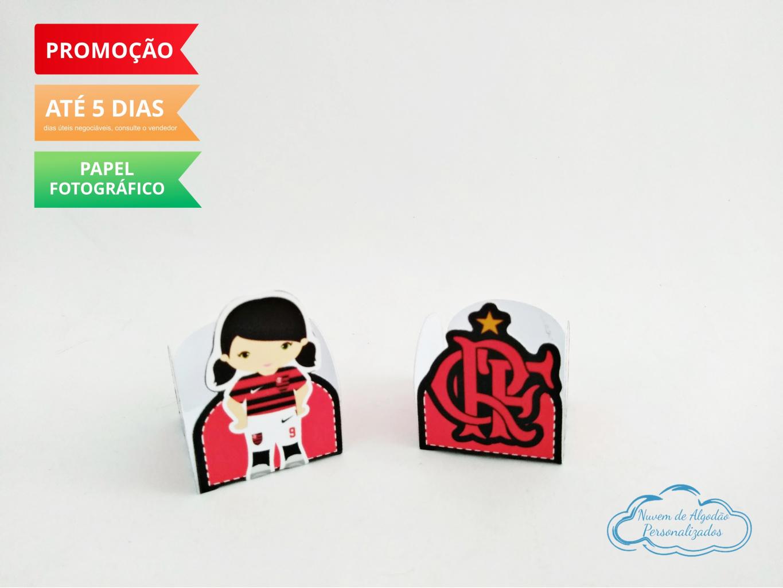 Nuvem de algodão personalizados - Forminha Flamengo Time