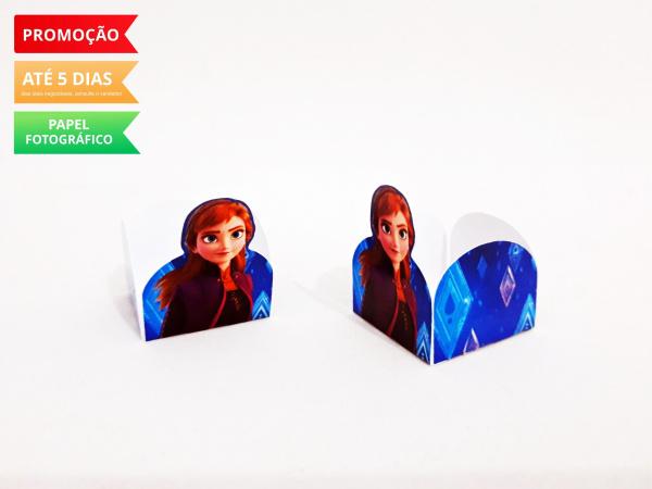 Forminha Frozen 2 - Anna-Forminha Frozen 2 - Anna Fazemos em qualquer tema. Envie nome e idade para personalização.  -
