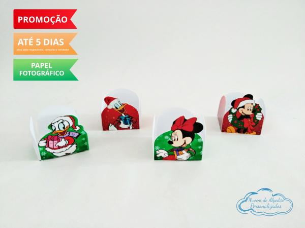 Forminha Mickey Natal-Forminha Mickey Natal Fazemos em qualquer tema. Envie nome e idade para personalização.  - Pro