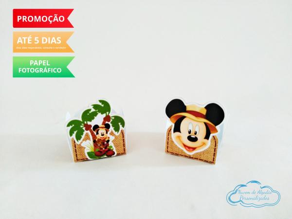 Forminha Mickey Safari-Forminha Mickey Safari Fazemos em qualquer tema. Envie nome e idade para personalização.  - Pr