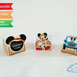 Forminha Mickey Safari Aventura