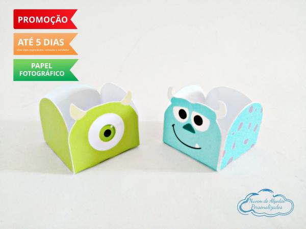 Forminha Monstros SA-Forminha Monstros SA Fazemos em qualquer tema. Envie nome e idade para personalização.  - Prod
