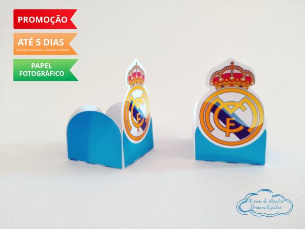 Forminha Real Madrid Azul-Forminha Real Madrid Azul Fazemos em qualquer tema. Envie nome e idade para personalização.  -