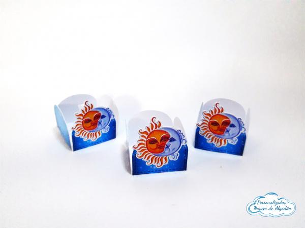 Forminha Sol e Lua-Forminha Sol e Lua Fazemos em qualquer tema. Envie nome e idade para personalização.  - Produt