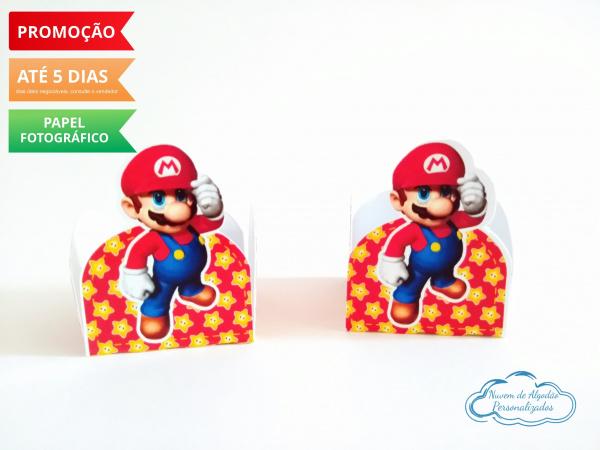 Forminha Super Mario-Forminha Super Mario  Fazemos em qualquer tema. Envie nome e idade para personalização.  - Pro