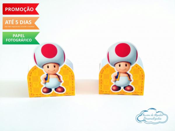 Forminha Super Mario Cogumelo-Forminha Super Mario Cogumelo Fazemos em qualquer tema. Envie nome e idade para personalização.