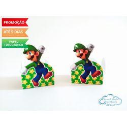 Forminha Super Mario luigi