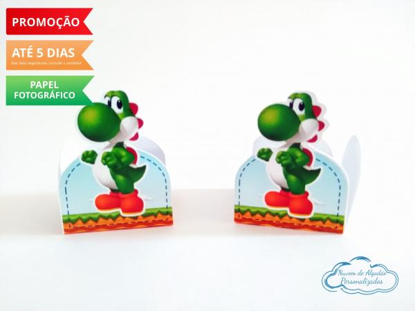 Forminha Super Mario Yoshi-Forminha Super Mario Yoshi Fazemos em qualquer tema. Envie nome e idade para personalização.