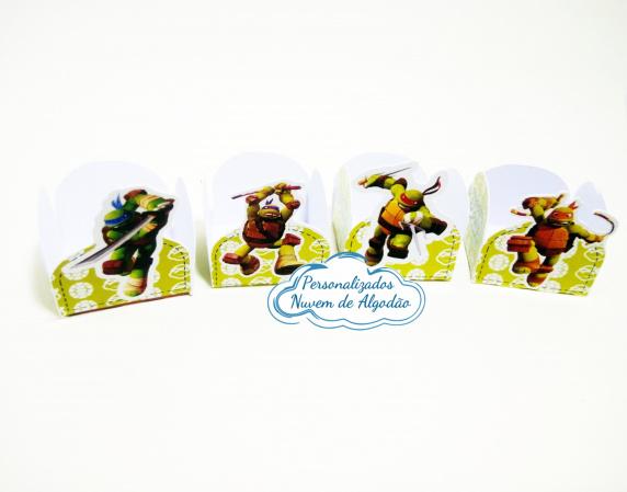 Forminha Tartarugas ninja-Forminha Tartarugas ninja Fazemos em qualquer tema. Envie nome e idade para personalização.  -