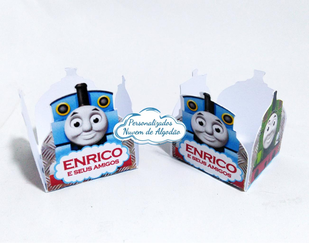 Nuvem de algodão personalizados - Forminha Thomas e seus amigos