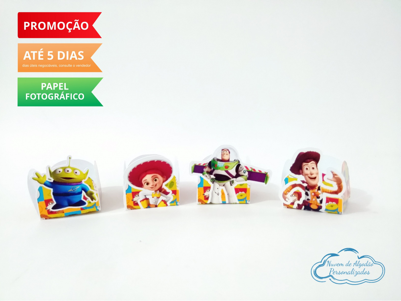 Nuvem de algodão personalizados - Forminha Toy Story