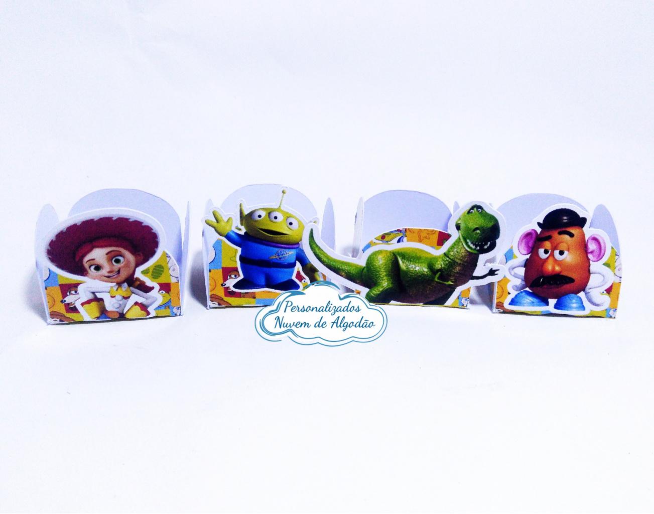 Nuvem de algodão personalizados - Forminha Toy Story Dinossauro