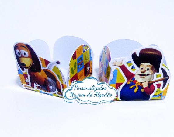 Forminha Toy Story Slinky-Forminha Toy Story Slinky Fazemos em qualquer tema. Envie nome e idade para personalização.  -