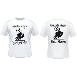 Kit 2 camisetas  Empinou Raspou
