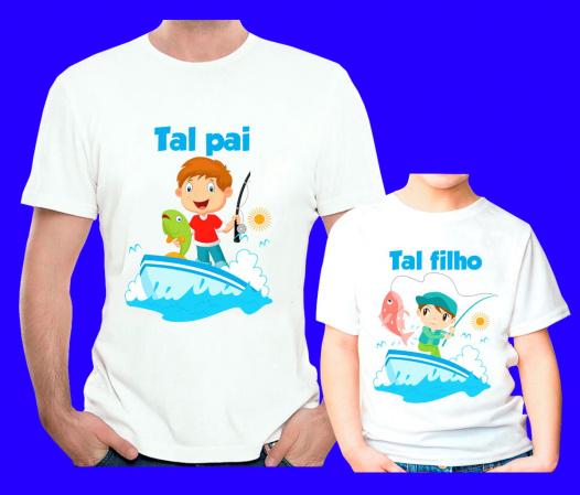 Kit 2 Camisetas  Tal Pai Tal Filho  Personalizada-Kit 3 Camisetas Princesas  PersonalizadaKit 3 Camisetas Princesas  Personalizada Descrição Um pr