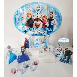 Kit só um bolinho Frozen - Tamanho P
