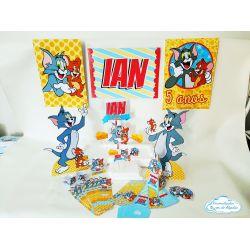 Kit só um bolinho Tom e Jerry - Tamanho G