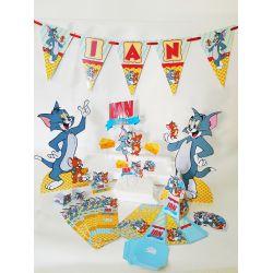 Kit só um bolinho Tom e Jerry - Tamanho G 2