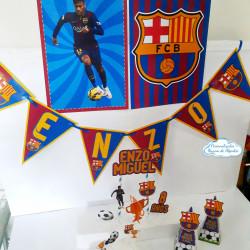 Kit só um bolinho Barcelona - Tamanho P