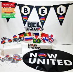 Kit só um bolinho Now United - Tamanho P