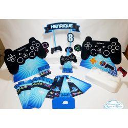 Kit só um bolinho Playstation - Tamanho M