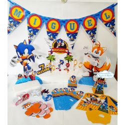 Kit só um bolinho Sonic - Tamanho G