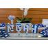 Letra 3d Batizado azul escuro-Letra 3d Batizado azul escuro  Atenção: Valor referente a unidade da letra!  Fazemos em qualqu