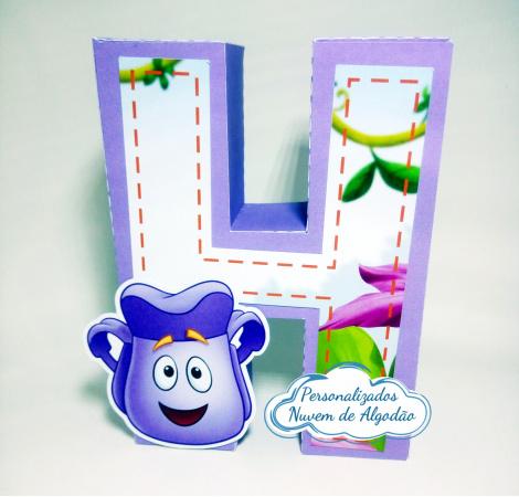 Letra 3d Dora Aventureira-Letra 3d Dora Aventureira  Atenção: Valor referente a unidade da letra!  Fazemos em qualquer t