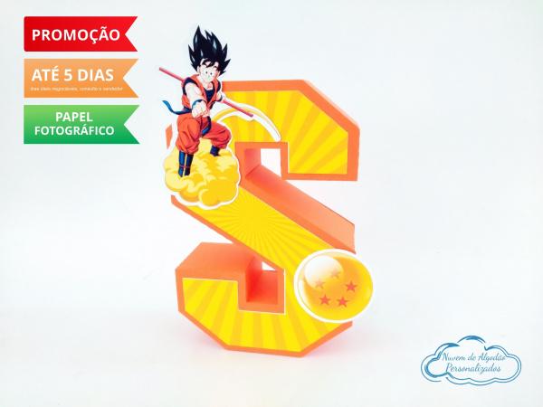 Letra 3d Dragon Ball-Letra 3d Dragon Ball  Atenção: Valor referente a unidade da letra!  Fazemos em qualquer tema.