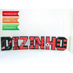 Letra 3d Flamengo