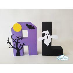 Letra 3d Halloween