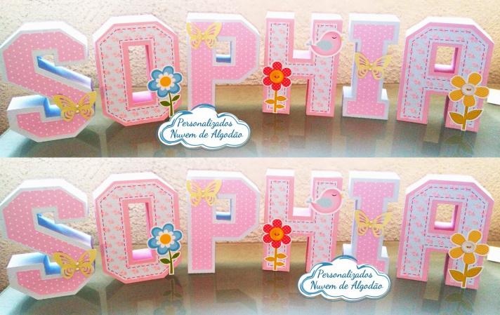 Letra 3d Jardim Encantado-Letra 3d Jardim Encantado  Atenção: Valor referente a unidade da letra!  Fazemos em qualquer t