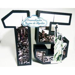 Letra 3d Nova York