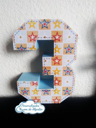 Letra 3d Super Wings - estrelas-Letra 3d Super Wings - estrelas Atenção: Valor referente a unidade da letra!  Fazemos em qualqu