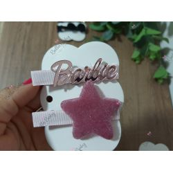 Par hair clips Barbie
