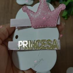 Par hair clips Princesa